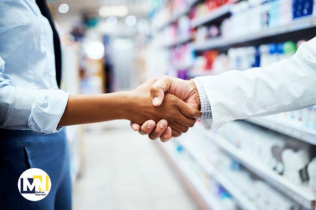 روش برخورد فروشنده با مشتری